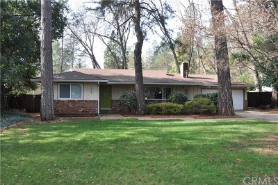 Paradise Single Family Home For Sale: 6409 Parkwood Way