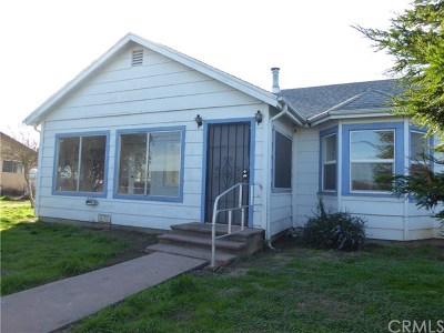 Willows CA Single Family Home For Sale: $145,000