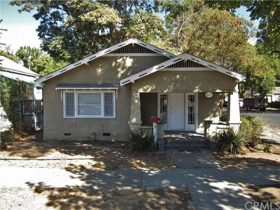Chico Single Family Home For Sale: 823 Orient Street