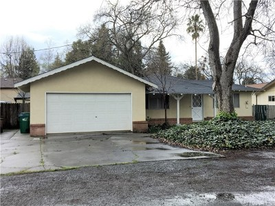 Chico CA Single Family Home Active Under Contract: $250,000