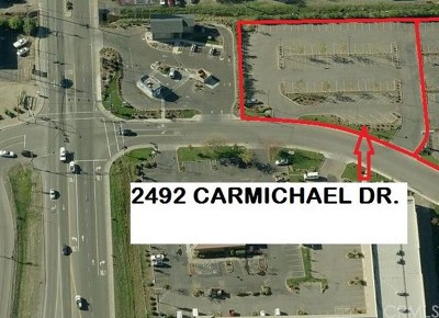 Commercial Lease For Lease: 2492 Carmichael Drive