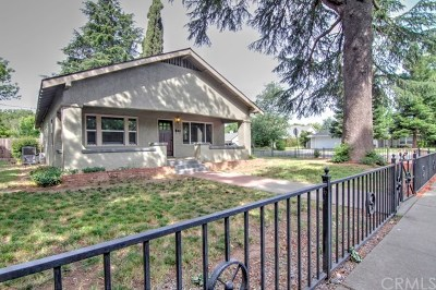 Chico Single Family Home For Sale: 1581 Warner Street