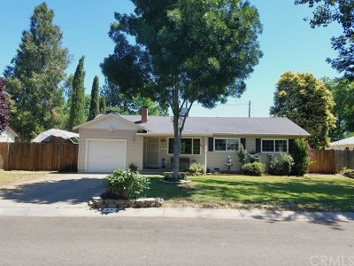 Chico Single Family Home For Sale: 27 Terrace Drive