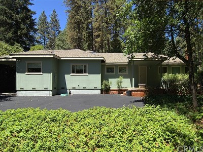 Paradise Single Family Home For Sale: 569 Sunset Drive