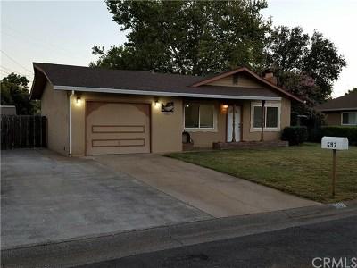 Chico Single Family Home For Sale: 697 Cabrillo Drive