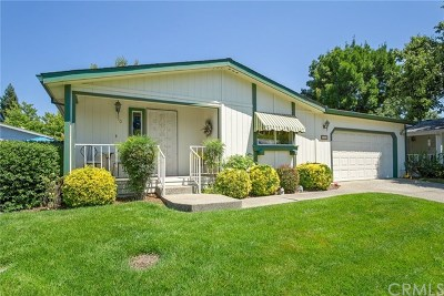 Chico CA Single Family Home For Sale: $119,500