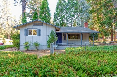 Paradise Single Family Home For Sale: 1681 Wagstaff Road