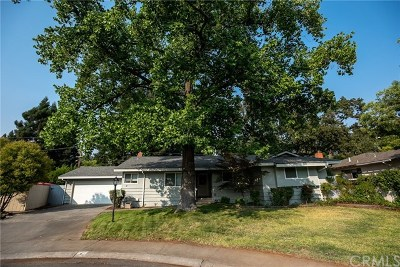 Chico Single Family Home For Sale: 4 Woodcrest Lane