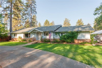 Paradise Single Family Home For Sale: 5621 Pentz Road