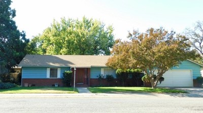 Red Bluff Single Family Home For Sale: 209 Sherman Drive