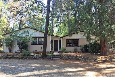 Paradise Single Family Home For Sale: 5832 Ingalls Road