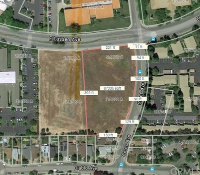 Chico Residential Lots & Land For Sale: Lassen Avenue