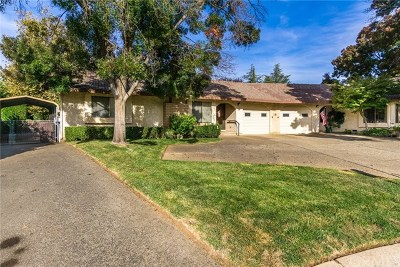 Chico Single Family Home For Sale: 15 Greenview Circle