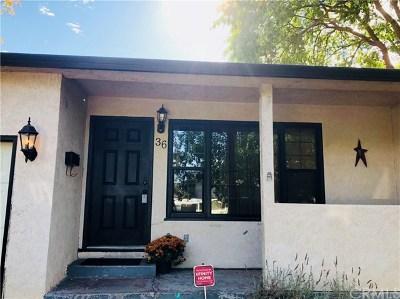 Oroville Single Family Home For Sale: 36 La Cresenta Drive