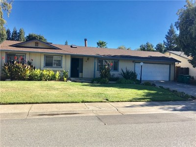 Chico Single Family Home For Sale: 38 Quista Drive