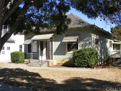 Willows CA Single Family Home For Sale: $167,900