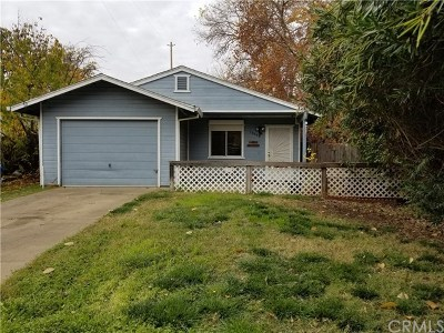 Chico Single Family Home For Sale: 1374 Humboldt Avenue #B