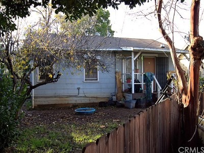 Oroville Single Family Home For Sale: 1735 Elgin Street