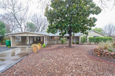 Chico Single Family Home For Sale: 1615 Meadow Road