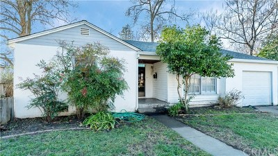Chico Single Family Home For Sale: 1531 & 1531 1/2 Sherman Avenue