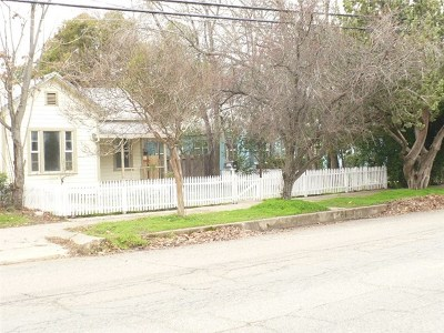 Red Bluff Single Family Home For Sale: 1225 Monroe Street