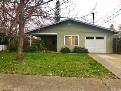 Chico Single Family Home For Sale: 835 El Dorado Street