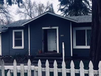 Chico Single Family Home For Sale: 1218 N Cedar Street N