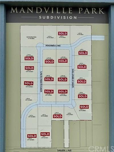 Chico Residential Lots & Land For Sale: 6 Mandville Park