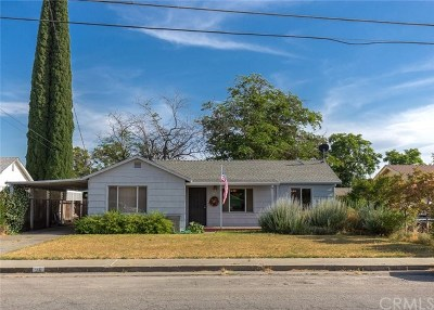 Orland Single Family Home For Sale: 26 E Tehama Street
