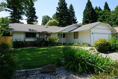 Chico Single Family Home For Sale: 71 Skymountain Circle