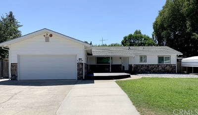 Red Bluff Single Family Home For Sale: 1480 Robinson Drive