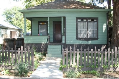 Chico Single Family Home For Sale: 1176 Warner Street