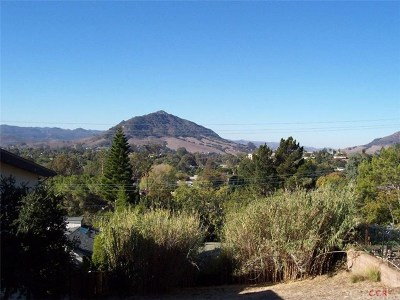 San Luis Obispo Residential Lots & Land For Sale: 339 Santa Maria Avenue