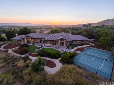 San Luis Obispo County Single Family Home For Sale: 6970 Canada Vista