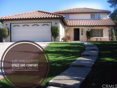 Santa Maria Single Family Home For Sale: 4498 Cynbalaria Court