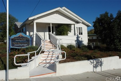 San Luis Obispo Commercial For Sale: 1508 Mill Street