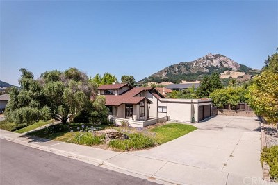 San Luis Obispo CA Single Family Home For Sale: $1,199,000