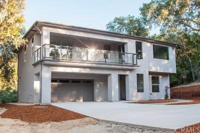 Santa Margarita, Templeton, Atascadero, Paso Robles Single Family Home For Sale: 8545 Del Rio Road