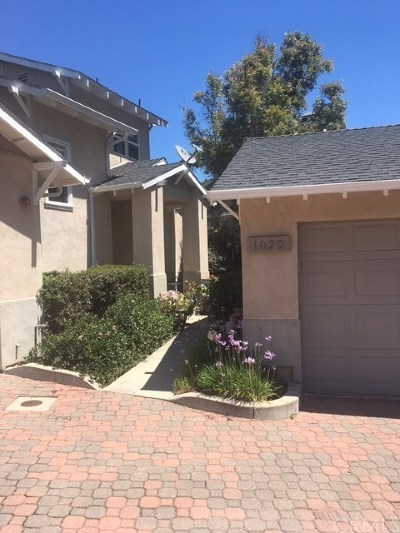 San Luis Obispo Condo/Townhouse For Sale: 1020 Willow Circle
