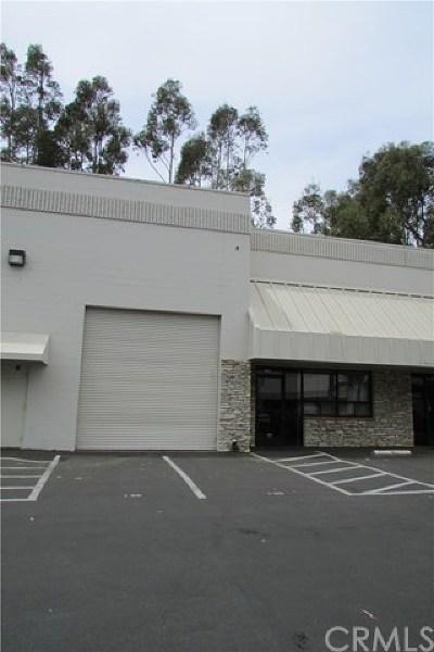 San Luis Obispo County Commercial Lease For Lease: 2705 McMillan Avenue #130B