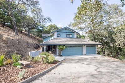Atascadero Single Family Home For Sale: 13785 Palo Verde Road