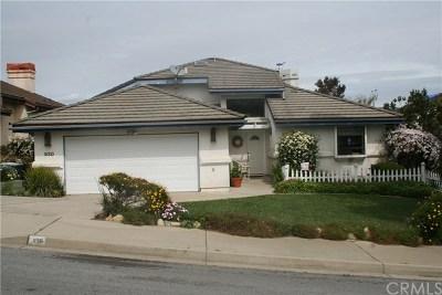 San Luis Obispo Single Family Home For Sale: 930 Valecito Court