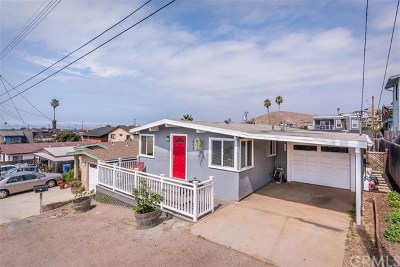 Cambria, Cayucos, Morro Bay, Los Osos Single Family Home For Sale: 491 Luzon