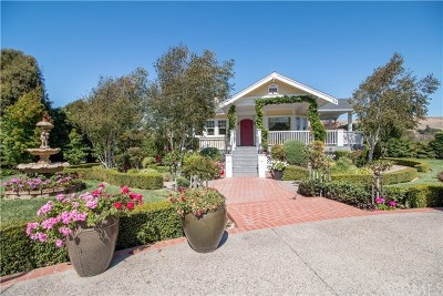 San Luis Obispo Single Family Home For Sale: 5840 Los Osos Valley Road