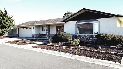 Morro Bay Single Family Home For Sale: 290 Sienna Street