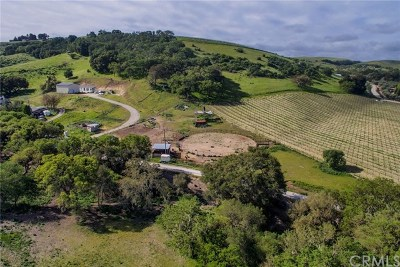 San Luis Obispo County Residential Lots & Land For Sale: 5025 Roble Sambrio