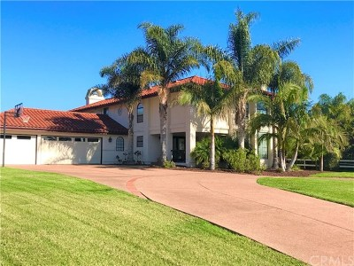 San Luis Obispo Single Family Home For Sale: 1836 Castillo Court
