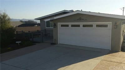 Morro Bay Single Family Home For Sale: 1333 Hillcrest