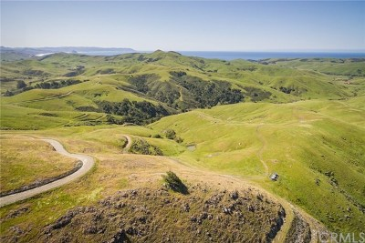 San Luis Obispo County Residential Lots & Land For Sale: Villa Creek Road