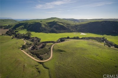 Cayucos CA Residential Lots & Land For Sale: $5,800,000
